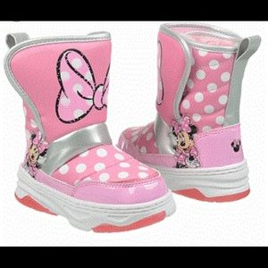 Chili Minnie snow boots